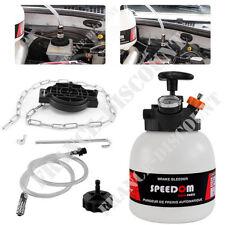 Pump Action Manual Pressure Brake Bleeder 3L Capacity Fluid Garage