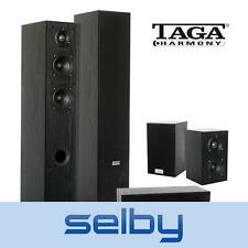 TAGA Harmony 306 Home Theatre Speaker Set Compact Surround Sound TAV306V2