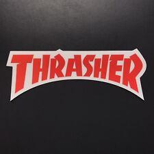4406768814a7 Thrasher Magazine Die Cut Logo Sticker Skate Skateboard Mag Decal Vans Flame