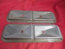 Pair Engine Tappet Side Covers Flathead 6 Chrysler Desoto Dodge Mopar Cylinder