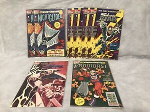 Topps Comics Zorro #4, Bombast, Silver Star & Night Glider + Trading Cards