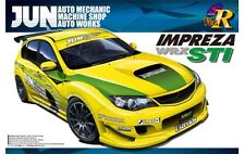 Aoshima 1/24 Scale Model Car Kit Jun Ver. Subaru Impreza WRX STi GRB '07