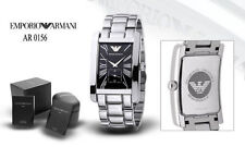 EMPORIO ARMANI AR0156 STAINLESS STEEL GENTS/MENS CLASSIC WRIST WATCH