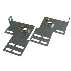 Garage Door End Bearing Plates Brackets ~ One Pair (L&R) ~ Residential Brackets