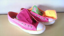 WOMEN'S SIZE 7 CONVERSE ALL -STARS PINK AND GREEN