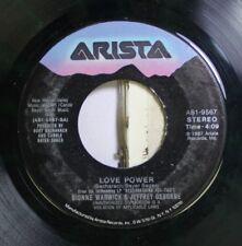 Soul 45 Dionne Warwick & Jeffrey Osborne - Love Power / In A World Such As This