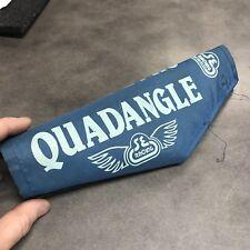 Vintage BMX 1980's SE Racing Original  Quadangle FRAME Pad Authentic BLUE