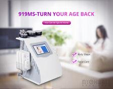 Unoisetion Cavitation Rf Vacuum Skin Tighten 5mw Laser Slimming 6 IN 1 Machine