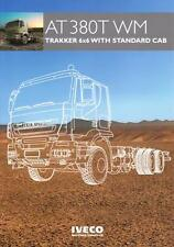 IVECO TRAKKER AT380T WM 6x6 2014 MILITARY BROCHURE PROSPEKT FOLDER DEPLIANT