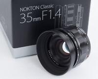 Voigtlander USA WARRANTY 35mm f1.4  Nokton for Sony FE NEXT DAY USA