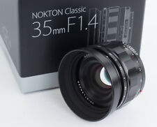 Voigtlander 35mm f1.4  35/1.4 Nokton for Sony E mount cameras