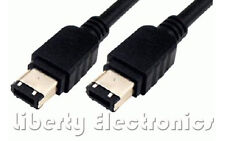 NEW 6FT IEEE 1394 Firewire Cable 6 Pin Male To 6 Pin Male