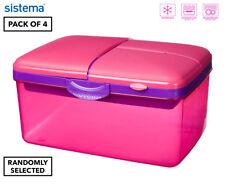Sistema 2l Quaddie Lunchbox 4-pack - Multi
