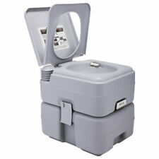 Portable Toilet  5 Gallon 20L Flush Outdoor Camping Toilet Potty Travel Car SUV