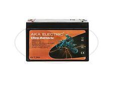 Batteria 6V 7,2Ah AKA Vello non richiede manutenzione per Simson S50,S51,S70,
