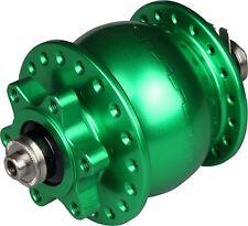 Nabendynamo Son 28 Neu 36 Loch grün für Disk 6 Loch