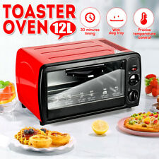 12L Portable Electric Rotisserie Grill/Toaster Oven Home Mini Bakin