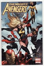 MIGHTY AVENGERS #1 Comics MS. MARVEL 2ND PRINT VARIANT COVER SIGNED BY FRANK CHO