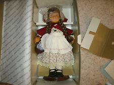 Hamilton Collection Wooden Doll - Gretchen - With Box !