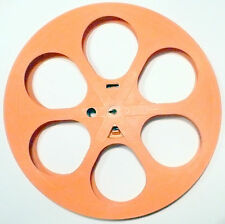 "35MM ORANGE 14"" PLASTIC 2000' REEL * - Hollywood Wall Decorations, Movie Rooms"