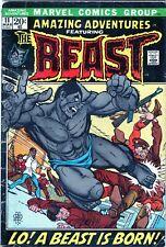 Amazing Adventures #11 KEY Bronze Age MARVEL Comics (1972) 1st App of The Beast!