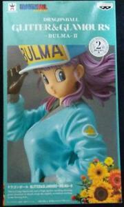 Dragon Ball Figure Glitter Glamours Bulma II B color Green Banpresto Prize