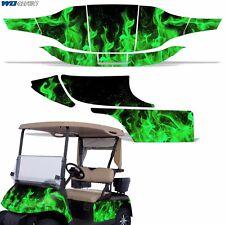 New EZ-Go TXT Graphic Kit Golf Cart Decal Sticker 2 Seat EZGO Wrap 94-13 ICE GRN