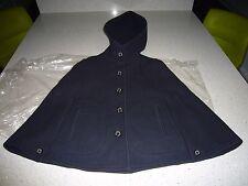 Genuine MACKINTOSH Ladies Womens Wool Cape Raincoat Mac Coat NEW Size 34 PETITE