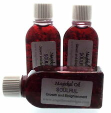 Soulful Herbal Infused Botanical Incense Oil Growth Enlightenment