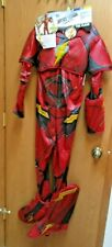 Halloween Costume Cosplay Rubie's DC Justice League The Flash Light up L10-12 BO