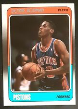 1988-89 Fleer #43 Dennis Rodman RC Rookie