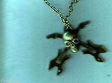 Rhinestone Unbranded Punk Costume Necklaces & Pendants