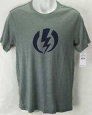 NEW Electric Standard Volt Gray Mens Large Snow Skate Cotton Tee Shirt Msrp$22