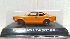 1/64 Konami TOYOTA COROLLA LEVIN TE27 ORANGE diecast car model NEW