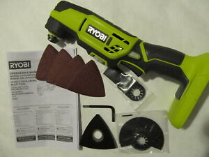 Ryobi Multi-Tool 18V ONE+ P343VN Attachment LED Lock On adjust Tool Only NEW