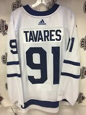 John Tavares Toronto Maple Leafs Adidas 50 (Medium) White Jersey Ready To Ship!