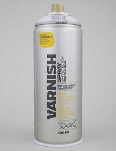 Montana Matt Varnish Spray Can - 400ml
