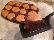 Bakery Style Peanut Butter Cookie Brownies - Homemade - Sugar Or Sugar Free
