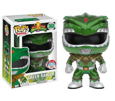 "LIMITED NYCC POWER RANGERS VERDE METALLIZZATO RANGER 3.75"" POP TV"
