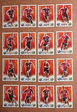 Topps match coronó liga 2009/10 bl 09/10 * 1.fc Nuremberg * todos 16 basecards *