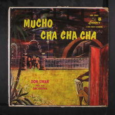 DON SWAN: Mucho Cha Cha Cha LP (Mono, split seams, tear on cover)