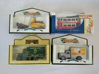 4 x Lledo Days Gone Brewery Vehicles Newcastle Brown Mackesons Whitbread G King