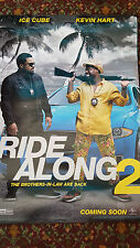 RIDE ALONG 2 Original Movie Poster 27 x 40 DS Authentic