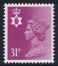GB QEII Northern Ireland. SG NI64 31p Bright Purple Type I  PP. Regional Machin.