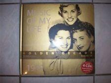 Music of my life - Golden Decade - Book 03 / 25 - 1949 - 4 CD - Neu / OVP