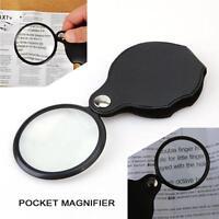 New Folding 10X Mini Pocket Jewelry Magnifier Magnifying Eye Glass Loupe Lens-Jʌ