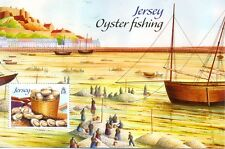 Jersey-Oyster Fishing min sheet mnh-2014 Oct issue