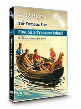 ENID BLYTON'S THE FAMOUS FIVE (1957) - FIVE ON TREASURE ISLAND - NEW DVD UK