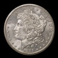 1881-S $1 Morgan Silver Dollar Choice BU to Almost GEM Great Strike/Luster *2854