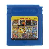 Game Boy Multi Cartridge 108 in 1 Compilation For GameBoy, GBC, GBA 100% New